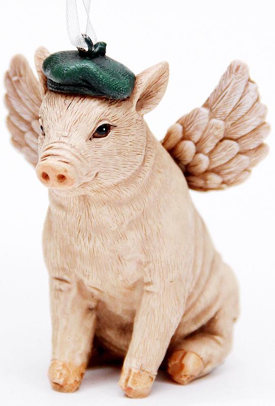 Украшение новогоднее подвесное Феникс-Презент Свинка в шапочке, высота 7 см41956Новогоднее подвесное украшение Феникс-Презент Свинка вшапочке выполнено из полирезина в виде свинки.С помощью специальной петельки украшение можно повеситьв любом понравившемся вам месте. Но, конечно, удачнее всегооно будет смотреться на праздничной елке. Елочная игрушка - символ Нового года. Она несет в себеволшебство и красоту праздника. Создайте в своем домеатмосферу веселья и радости, украшая новогоднюю елкунарядными игрушками, которые будут из года в год накапливатьтеплоту воспоминаний.