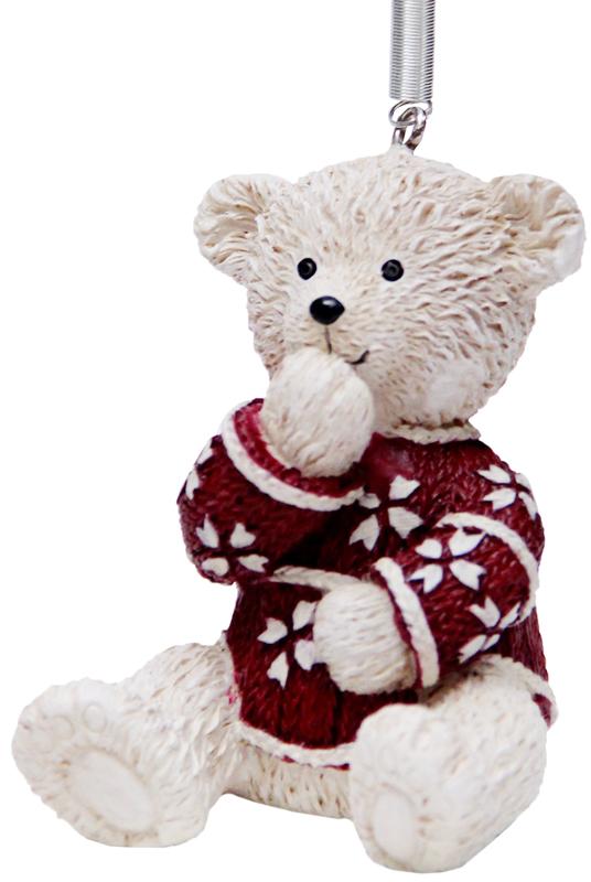 Украшение новогоднее подвесное Феникс-Презент Мишка в красном свитере, высота 6 см41969Новогоднее подвесное украшение Феникс-Презент Мишка в красном свитере выполнено из полирезина в виде медвежонка. С помощью специальной металлической петельки украшение можно повесить в любом понравившемся вам месте. Но, конечно, удачнее всего оно будет смотреться на праздничной елке.Елочная игрушка - символ Нового года. Она несет в себе волшебство и красоту праздника. Создайте в своем доме атмосферу веселья и радости, украшая новогоднюю елку нарядными игрушками, которые будут из года в год накапливать теплоту воспоминаний.