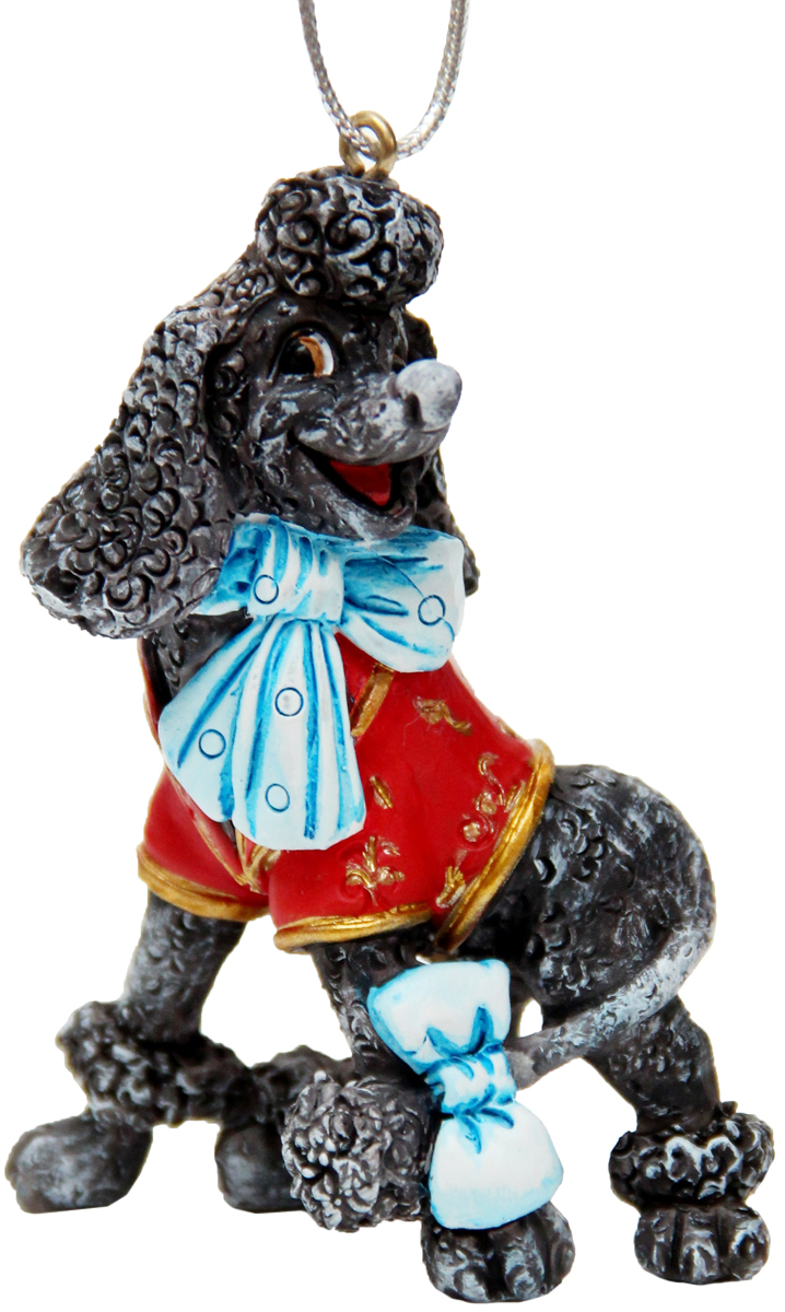 Украшение новогоднее подвесное Феникс-Презент Пес Артемон, высота 7,7см42165Новогоднее подвесное украшение Феникс-Презент Пес Артемон выполнено из полирезина в виде собаки.С помощью специальной петельки украшение можно повеситьв любом понравившемся вам месте. Но, конечно, удачнее всегооно будет смотреться на праздничной елке. Елочная игрушка - символ Нового года. Она несет в себеволшебство и красоту праздника. Создайте в своем домеатмосферу веселья и радости, украшая новогоднюю елкунарядными игрушками, которые будут из года в год накапливатьтеплоту воспоминаний.