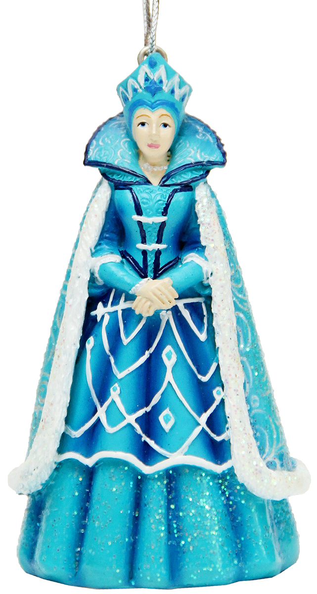 Украшение новогоднее подвесное Феникс-Презент Снежная королева, 4,7 x 4 x 8 см42173Новогоднее подвесное украшение Феникс-Презент Снежная королева выполнено из полирезины. С помощью специальной петельки украшение можно повесить в любом понравившемся вам месте. Но, конечно, удачнее всего оно будет смотреться на праздничной елке.Елочная игрушка - символ Нового года. Она несет в себе волшебство и красоту праздника. Создайте в своем доме атмосферу веселья и радости, украшая новогоднюю елку нарядными игрушками, которые будут из года в год накапливать теплоту воспоминаний.