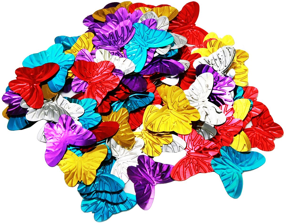 Конфетти новогоднее Magic Time Бабочки, 13 г42747Новогоднее конфетти Magic Time Бабочки выполнено из ПЭТ (полиэтилентерефталата) в форме бабочек. Конфетти создаст праздничное настроение, сделает праздник ярким и незабываемым.Новогодние украшения всегда несут в себе волшебство и красоту праздника. Создайте в своем доме атмосферу тепла, веселья и радости, украшая его всей семьей.Вес упаковки: 13 г.Размер бабочки: 3 х 2,5 см.