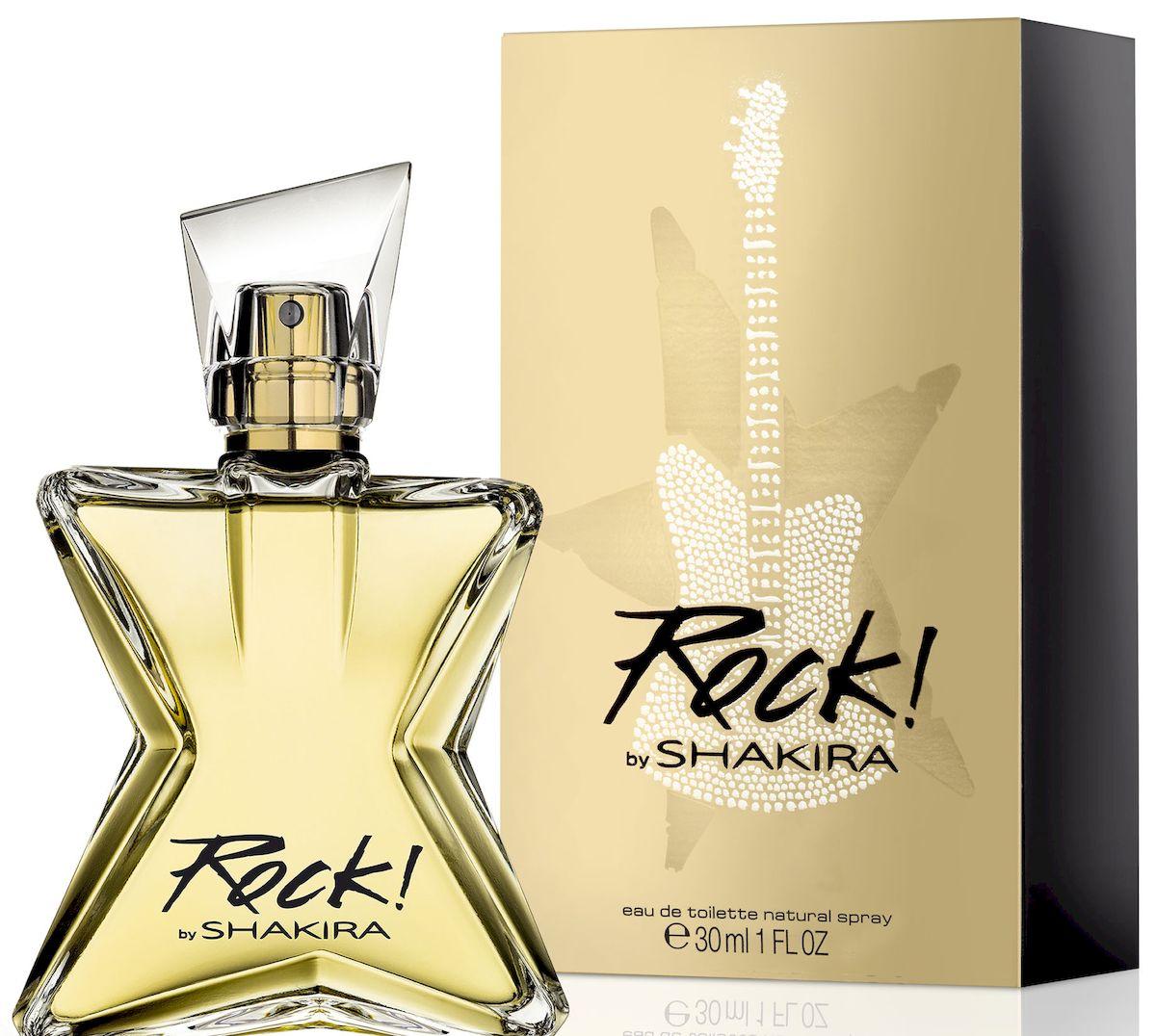 Shakira Rock By Shakira Туалетная вода, женская, 30 мл65085245Вдохновленная чистой энергией рока, Шакира вложила в новый аромат всю магическую притягательность своей музыки. Как и музыка певицы, Rock! by Shakira провозглашает свободу. Ноты зеленого мандарина, сочных фруктов и маракуйи звучат безошибочным ритмом городского бита. Мелодия цветочного аккорда увлекает в чувственный мир наслаждений. Созвучие жасмина и флердоранжа гармонично завершает композицию верхних нот. Базовые аккорды пачули и кедра взрываются соблазнительным ритмом и завершаются загадочным шлейфом амбровых нот. Rock! воплощает всю притягательную силу музыки.Верхняя нота: Мандарин, маракуйя.Средняя нота: Цветы апельсина, Тиаре.Шлейф: Кедр, амбра.Тиаре - для пленительного соблазна.