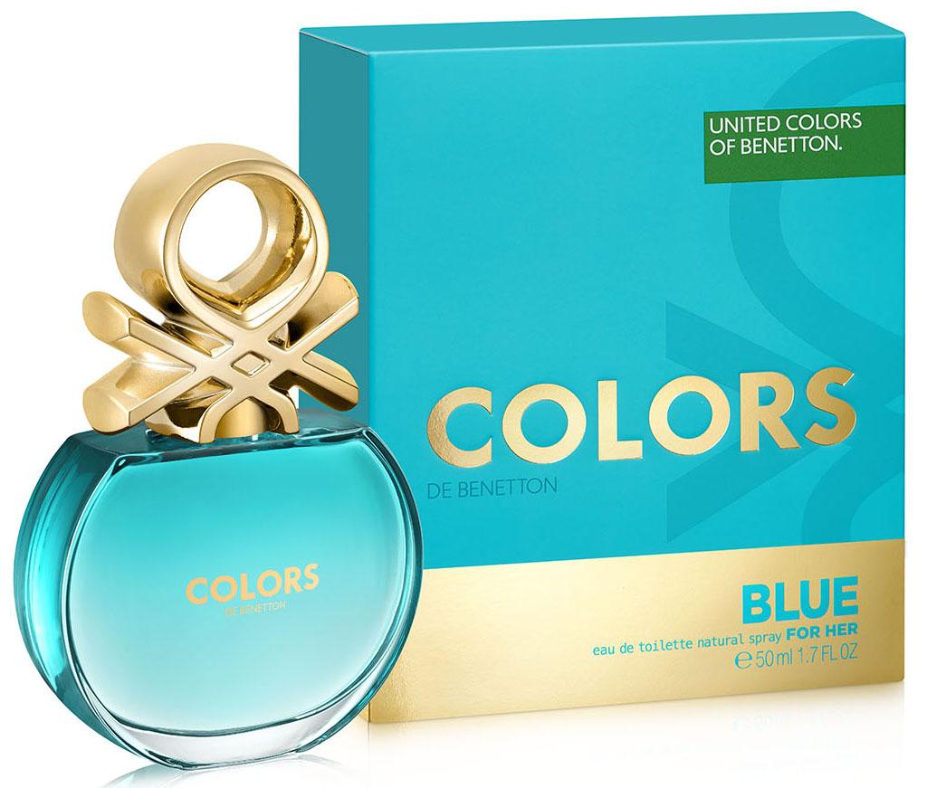 Benetton Colors BLUE Туалетная вода, женская, 50 мл65113753Аромат в бирюзовом флаконе раскрывается яркой, искристой смесью севильского апельсина и энергичного юдзу. Женственные ноты нероли и характерные ноты чая матэ наделяют его элегантностью, подчеркнутой прозрачной фрезией. В базе чистая и чувственная свежесть бобов тонка переплетается с характером кедра и тягучестью мускуса. Аромат с индивидуальностью. Совершенно неотразимый. Верхняя нота: Севильский апельсин, Лимон, Юдзу Средняя нота: Апельсиновый цвет, Фрезия, Матэ Шлейф:Тонизирующие ноты матэ с ломтиком цитрусовых. Бодрящий, яркий, живойНанести на кожу, избегая попадания в глаза.Краткий гид по парфюмерии: виды, ноты, ароматы, советы по выбору. Статья OZON Гид