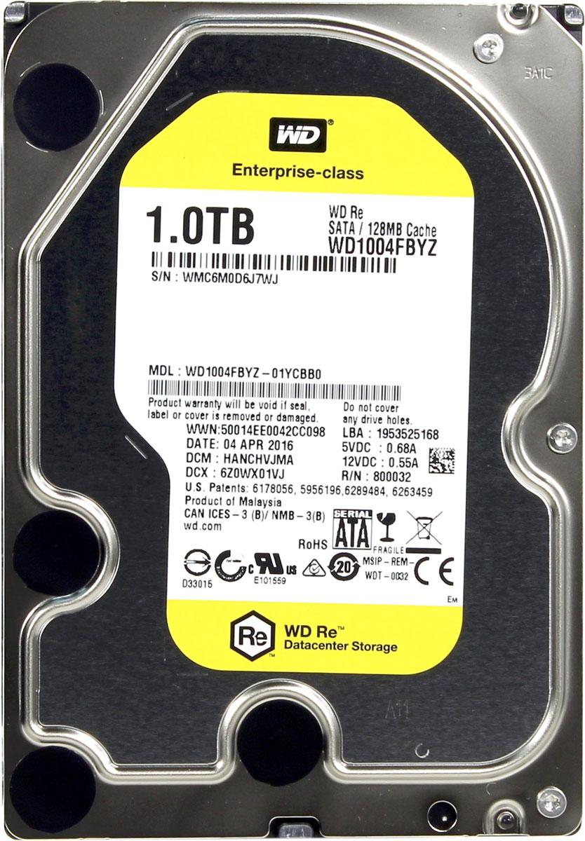 WD Re 1TB внутренний жесткий диск (WD1004FBYZ)