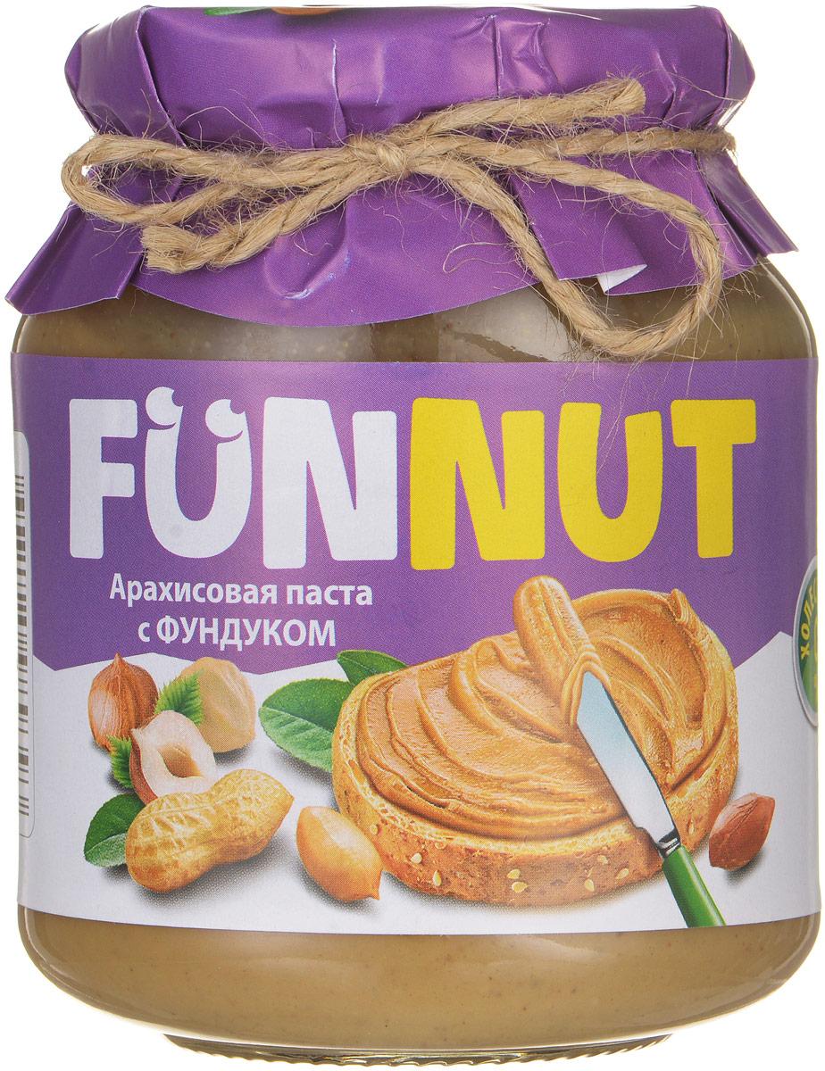 Funnut арахисовая паста с фундуком, 340 г romeo rossi паста яичная 4 яйца строцапрети 500 г