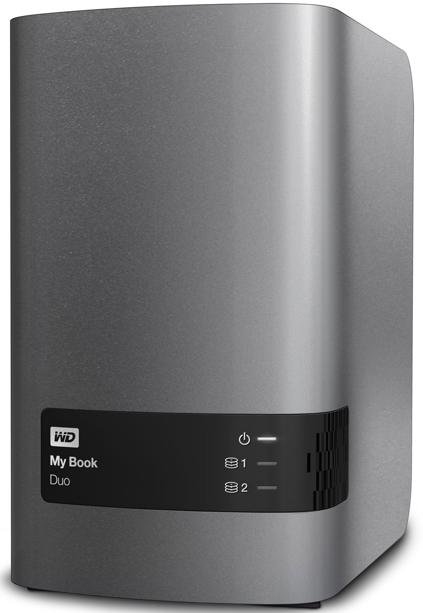 WD My Book Duo 4TB внешний жесткий диск (WDBRMH0040JCH-EEUE)WDBRMH0040JCH-EEUEНакопитель My Book Duo, оснащенный двумя жесткими дисками WD Red, обеспечивает внушительную емкость ив два раза более высокую скорость передачи данных. За счет объединения производительности дисков выполучаете скорость передачи до 324 МБ/с, что позволяет с легкостью копировать видео в формате Full HD иливсю свою коллекцию мультимедиа.My Book Duo — это ваше персонализированное цифровое хранилище. Благодаря высокой емкости у вас будетдостаточно места для централизованного хранения всей коллекции мультимедиа и важных документов вполном порядке и абсолютной безопасности.Настройте собственное расписание, чтобы копировать обновленные файлы или выполнять резервноекопирование новых папок автоматически, используя WD SmartWare. Программа резервного копированиянезаметно работает в фоновом режиме, так что защита ваших данных обеспечивается при потребленииминимального количества ресурсов компьютера. WD SmartWare также работает с Dropbox, так что можно дажесохранять файлы в облако.Acronis True Image WD Edition выполняет резервное копирование файлов на системном уровне, так что у васвсегда будет под рукой ваша операционная система и все, что в ней есть. При использовании Acronis True Imageи My Book Duo выполняется резервное копирование всех ваших файлов, приложений и параметров системы назащищенное устройство.My Book Duo поставляется в конфигурации RAID 0, обеспечивающей максимальную производительность иемкость. Однако можно выбрать и другой вариант в соответствии со своими потребностями: RAID 1 длямаксимальной защиты данных или JBOD, чтобы использовать диски по отдельности.My Book Duo обеспечивает 256-разрядное аппаратное AES-шифрование. А защита паролем оберегает всю вашуколлекцию мультимедиа и важные файлы на накопителе My Book Duo от несанкционированного доступа.У My Book Duo два порта USB 3.0 на задней панели, благодаря чему можно подключить несколько устройстводновременно. Вы можете добавить еще од