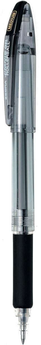 Zebra Ручка гелевая Jimnie Hyper Jell цвет черныйPARKER-S0856350Гелевая ручка Zebra Jimnie Hyper Jell оснащена системой двойной шарик, которая позволяет писать очень мягко и аккуратно, до последней капли чернил. Второй шарик в никелированном наконечнике стержня контролирует поступление чернил. Чернила не расплываются под водой и не теряют яркости со временем.