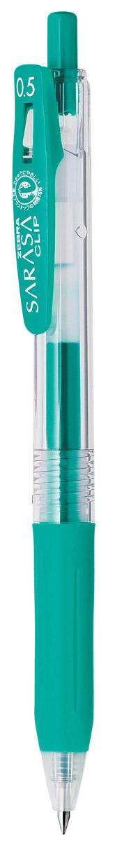 Zebra Ручка гелевая Sarasa Clip цвет бирюзовый306 306056Достоинство ручки Zebra Sarasa Clip - мягкость и плавность письма, аккуратные тонкие линии. Несомненный плюс этой модели - клип-прищепка, который позволяет прикреплять ручку к поверхностям практически любой толщины.Ручкой удобно писать: приталенный корпус с рифлением дает дополнительный контроль при письме. Каплевидная передняя часть с каучуковой подушечкой для пальцев предотвращает усталость руки.Диаметр шарика у этой модели всего 0,5 мм, что гарантирует очень тонкую линию письма.