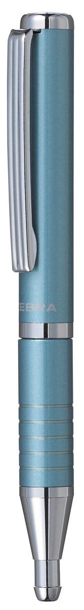 Zebra Ручка шариковая Slide цвет корпуса голубой305 072021Шариковая ручка Zebra Slide идеально подходит для записных книжек и органайзеров. В рабочем состоянии ручка раздвигается, приобретая длину обычной ручки, в закрытом виде очень компактна. Строгий стильный дизайн понравится всем любителям классики.