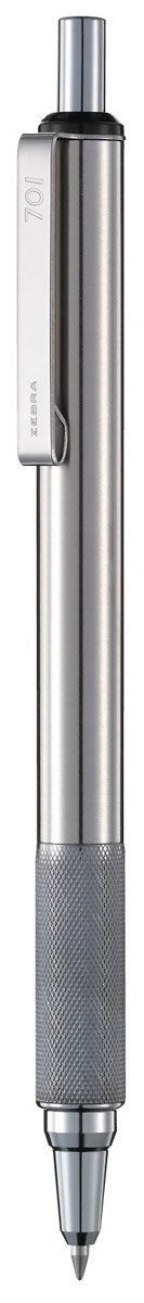 Zebra Ручка шариковая F-701 цвет корпуса серебристый 3d ручка feizerg f 001 blue