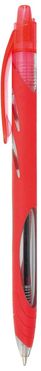 Zebra Ручка шариковая Ola цвет корпуса красныйB8308521Автоматическая шариковая ручка Zebra Ola имеет полупрозрачный пластиковый корпус, соответствующий цвету чернил. Специально разработанные мягкие чернила. Удобная область захвата, предотвращающая скольжение пальцев.