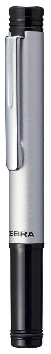 Zebra Ручка шариковая M-5 цвет корпуса серебристый zebra fuente