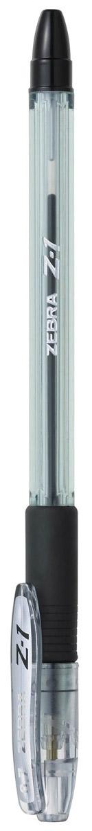 Zebra Ручка шариковая Z-1 цвет корпуса прозрачный черный305 246010В ручке Zebra Z-1 используются чернила нового четвертого поколения. Эти чернила сочетают в себе все достоинства чернил для шариковых и гелевых ручек: как шариковые экономичны, не растекаются под водой и не выцветают, при этом обеспечивая такое же мягкое и яркое письмо как гелевые.