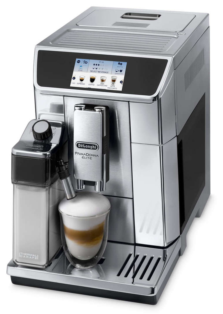 DeLonghi PrimaDonna Elite ECAM 650.75.MS кофемашина delonghi primadonna elite ecam 650 75 ms кофемашина
