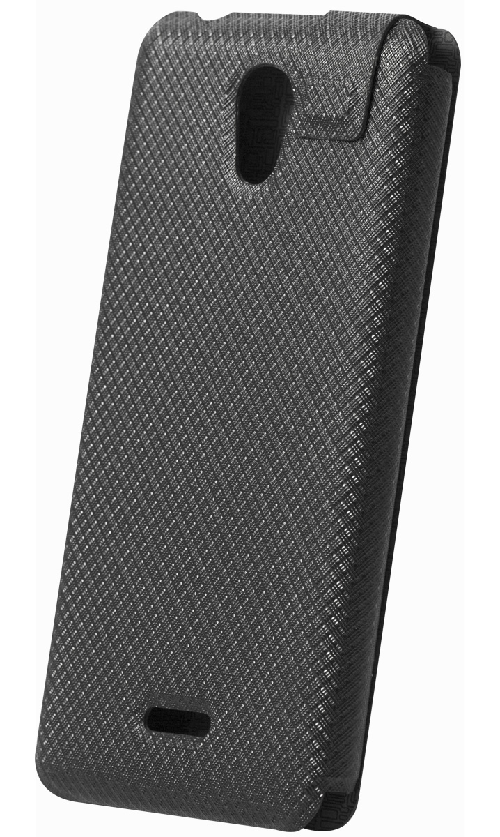 Highscreen Flip Case чехол для Easy S/Pro, Black highscreen power five pro купить в москве