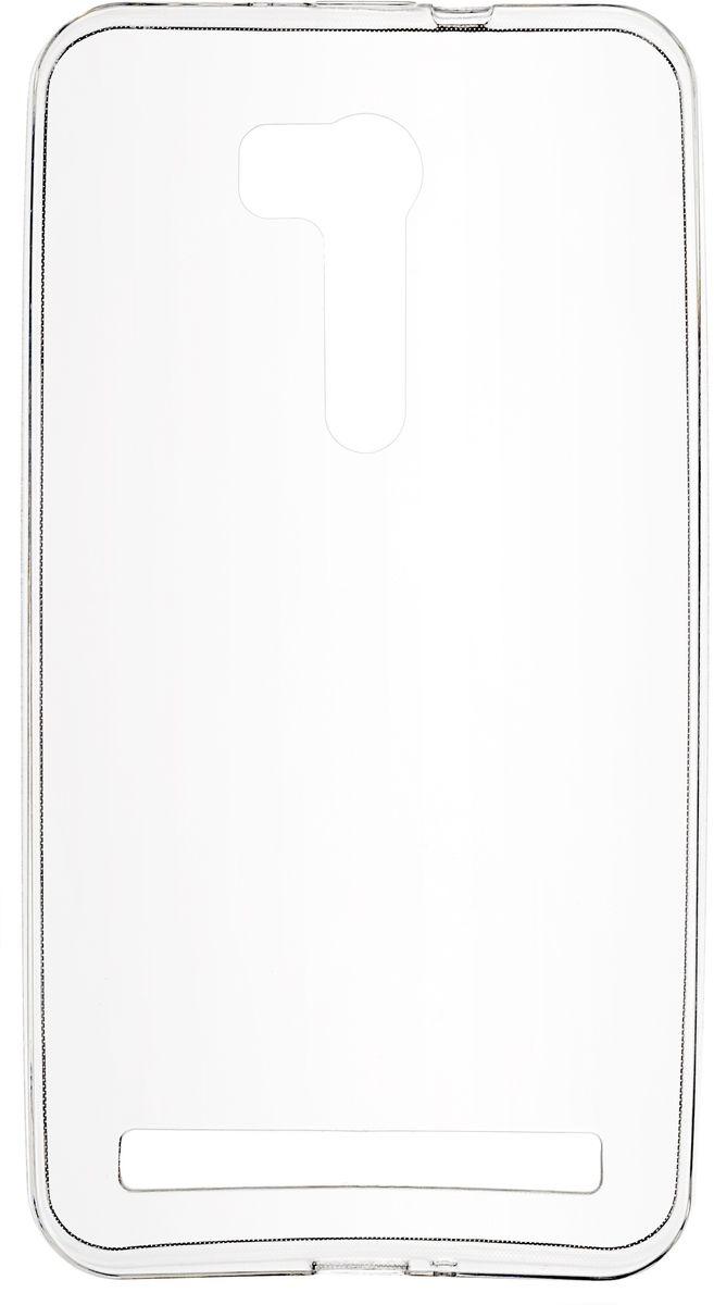 Skinbox Slim Silicone чехол для Asus Zenfone Go ZB551KL/G550KL Go TV, Transparent чехол для meizu pro 6 skinbox slim silicone прозрачный