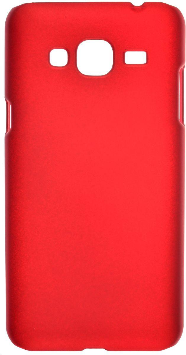 Skinbox чехол для Samsung Galaxy J3 (2016) + защитная пленка, Red2000000090672Чехол Skinbox для Samsung Galaxy J3 надежно защищает ваш смартфон от внешних воздействий, грязи, пыли, брызг. Он также поможет при ударах и падениях, не позволив образоваться на корпусе царапинам и потертостям. Чехол обеспечивает свободный доступ ко всем функциональным кнопкам смартфона и камере. Чехол Skinbox - это стильная и элегантная деталь вашего образа, которая всегда обращает на себя внимание среди множества вещей.