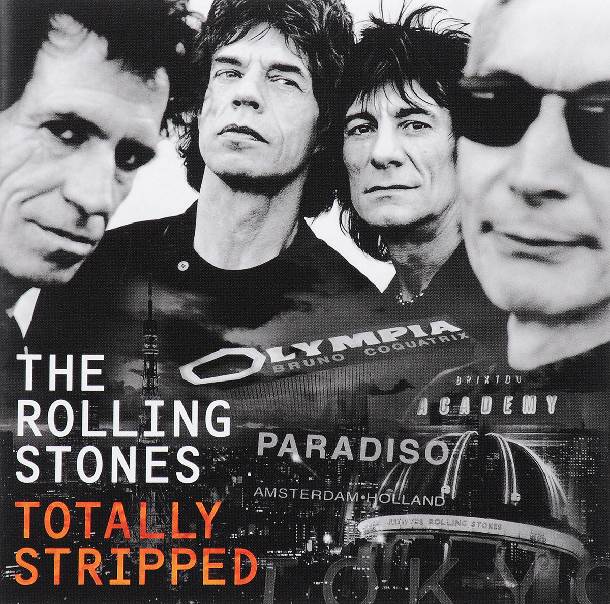 The Rolling Stones The Rolling Stones. Totally Stripped (CD + DVD) 10 hd digital lcd screen car headrest monitor dvd cd player ir fm with remote controller remote mount bracket car player new