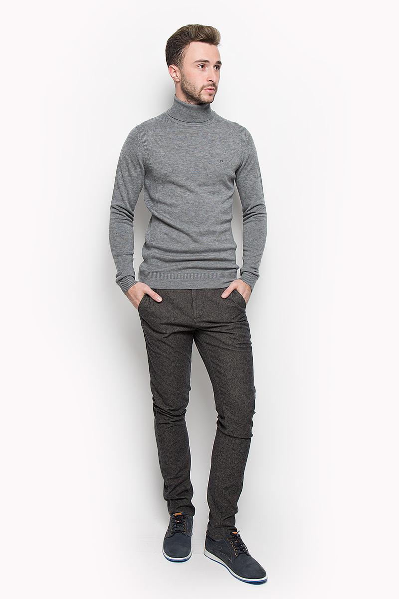 где купить Водолазка мужская Calvin Klein Jeans, цвет: серый. J30J300607. Размер: M (46/48) по лучшей цене