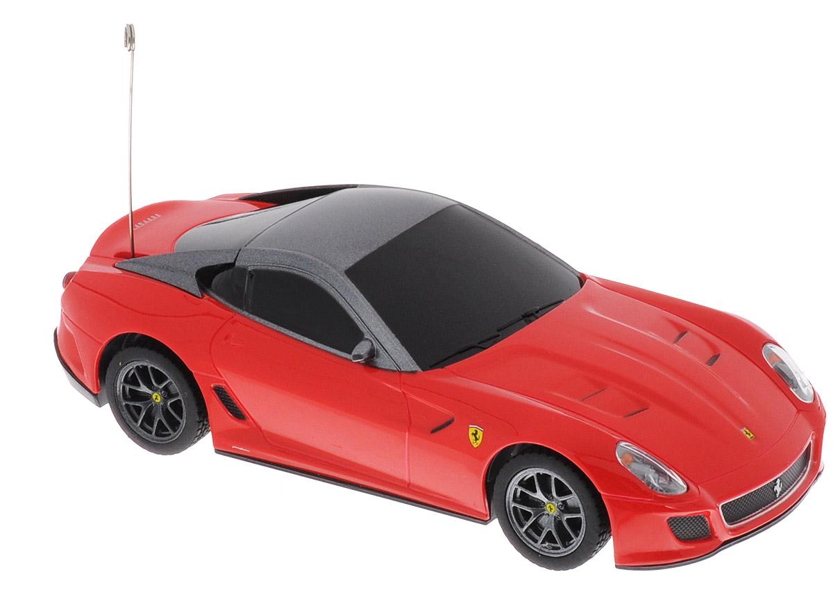 Rastar Радиоуправляемая модель Ferrari 599 GTO цвет красный масштаб 1:32 радиоуправляемая модель ferrari ff цвет красный масштаб 1 24