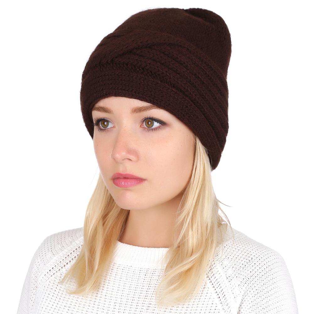 Шапка женская Fabretti, цвет: коричневый. F2016-14. Размер универсальныйF2016-14-85Элегантная женская шапка от итальянского бренда Fabretti выполнена из натуральной шерсти с добавлением волокон нежной альпаки. Изысканный узор, украшающий нижнюю часть модели, помогут вам дополнить ваш утонченный образ и подчеркнуть индивидуальный и яркий стиль.