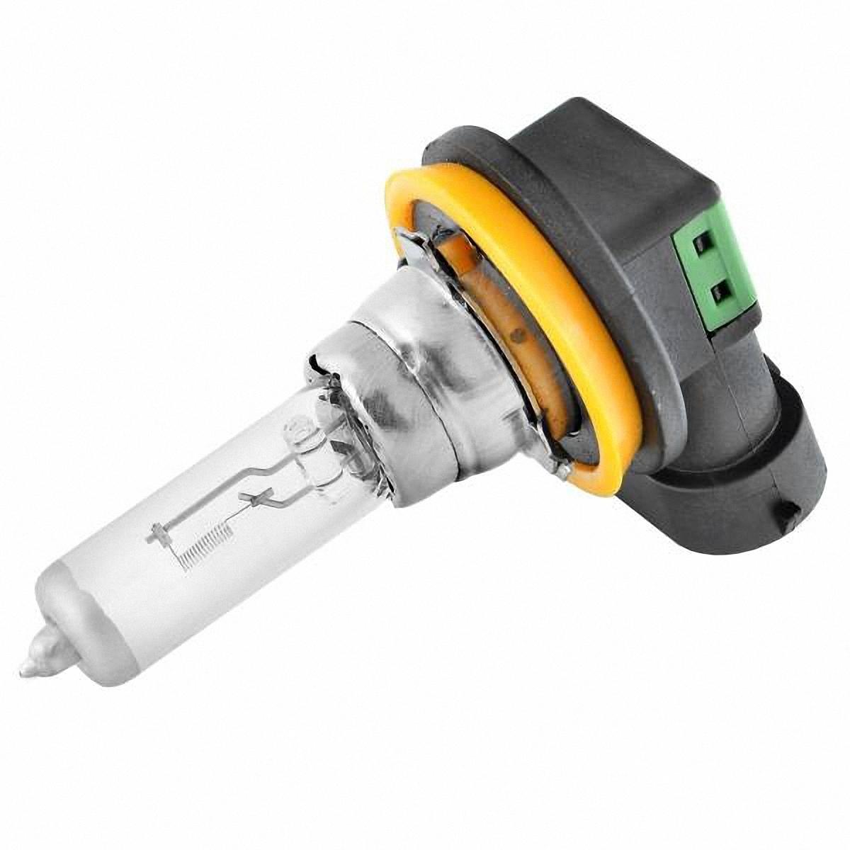 Лампа автомобильная Skyway, галогенная, цоколь H11, 55Вт, 12 ВH11-12V55W WАвтолампа представляет собой лампу накаливания, колбу которой заполняет галоген (йод или бром). Такие лампы отвечают всем без исключения стандартам качества. Для ближнего, дальнего света, противотуманных фар.Цоколь: Н11.