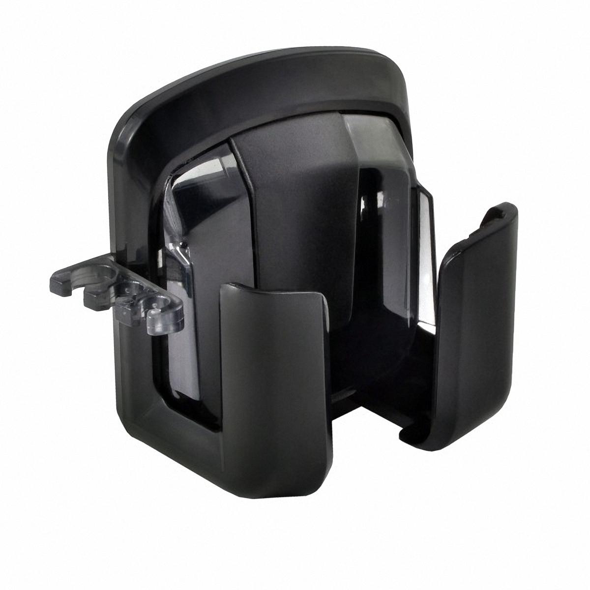 Держатель автомобильный Skyway, для телефона, на дефлектор. S00301012S00301012Держатель Skyway предназначен для телефона. Захват отделан мягкими вставками из мягкой резины, благодаря которым ваше устройство защищено от царапин.Легкая и удобная система установки позволяет быстро закрепить держатель в салоне практически любого автомобиля. Система поворота пьедестала позволяет поворачивать держатель на 360°.