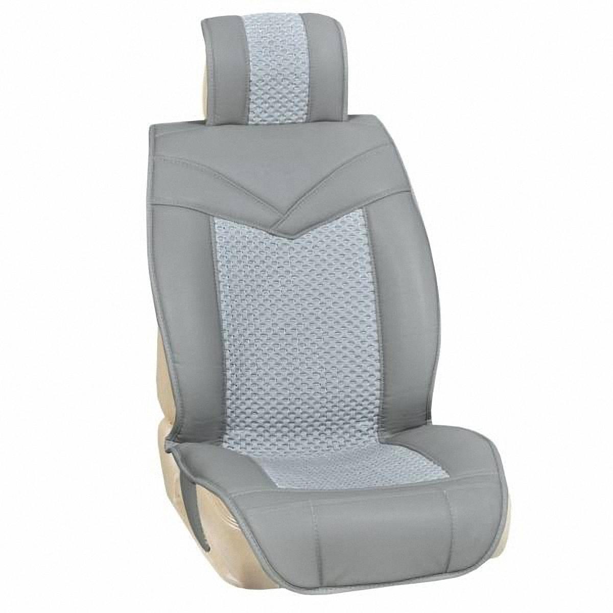 Накидки автомобильные Skyway, цвет: серый. S01301110S01301077Накидки автомобильные Skyway изготовлены из качественной искусственной кожи. Накидки отлично дополняют интерьер салона любого автомобиля. Мягкие и накидки предназначены для передних и задних сидений. Легкая установка облегчает использование, а высокотехнологичный материал не требует дополнительного ухода. Накидки универсальные с раздельным подголовником.