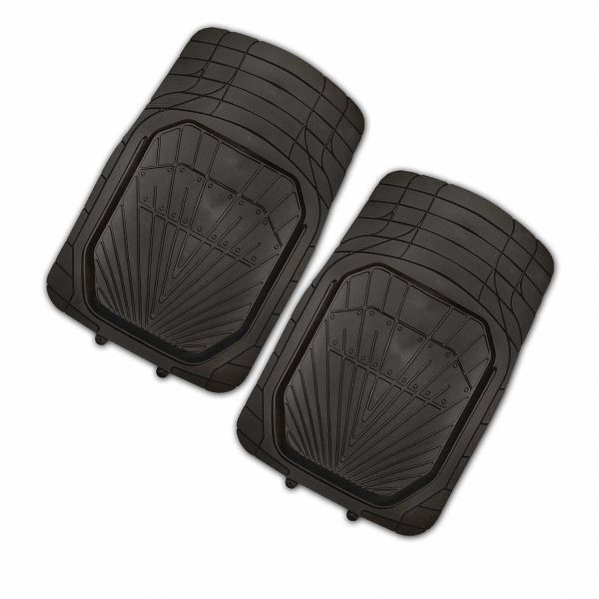 Коврик в салон автомобиля Skyway, передний, цвет: черный, 77 х 52 см, 2 штS01701022Комплект универсальных передних ковриков салона в форме ванночки сохраняет эластичность даже при экстремально низких и высоких температурах (от -50°С до +50°С). Обладает повышенной устойчивостью к износу и агрессивным средам, таким как антигололёдные реагенты, масло и топливо. Усовершенствованная конструкция изделия обеспечивает плотное прилегание и надёжную фиксацию коврика на полу автомобиля.Размер: 77 х 52 см.Комплектация: 2 шт.