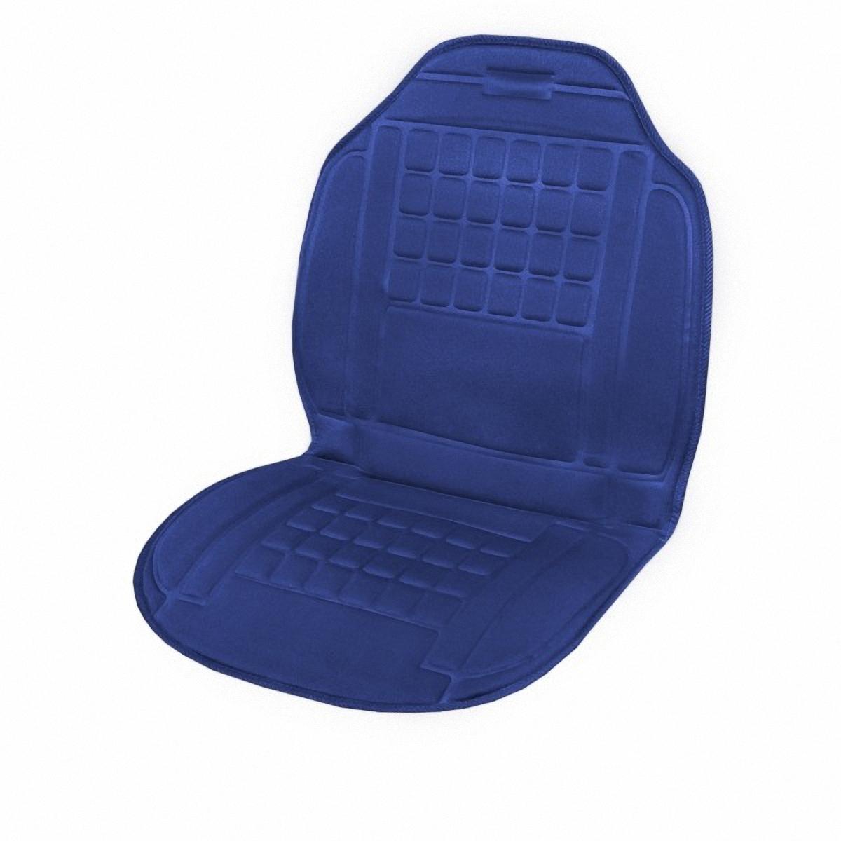 Подогрев для сиденья Skyway, со спинкой, 98 х 52 смS022010012Подогрев сидения Skyway - сезонный товар и большой популярностью пользуется в осенне-зимний период. Skyway предлагает наружные подогревы сидений, изготовленные в виде накидки на автомобильное кресло. Преимущество наружных подогревов в простоте установки. Они крепятся ремнями к креслу автомобиля и подключаются к бортовой сети через гнездо прикуривателя.