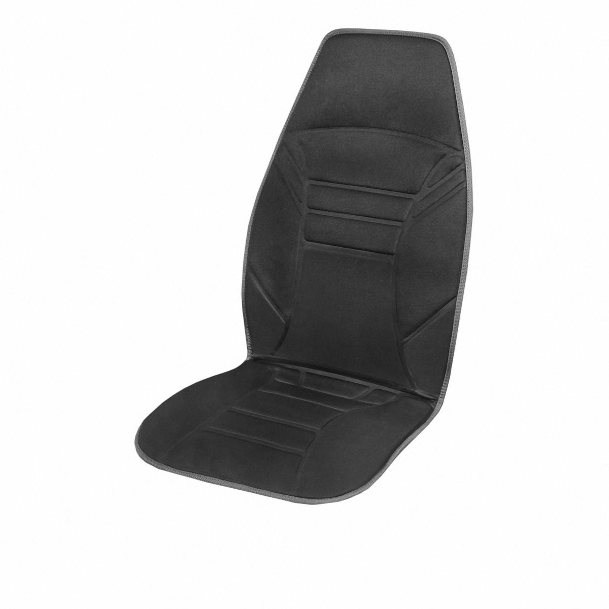 Подогрев для сиденья Skyway, со спинкой. S02201002S02201002Подогрев сиденья со спинкой SKYWAY с терморегулятором (2 режима) 12V 2,5А-3А. Подогрев сидения – это сезонный товар и большой популярностью пользуется в осенне-зимний период. ТМ SKYWAY предлагает наружные подогревы сидений, изготовленные в виде накидки на автомобильное кресло. Преимущество наружных подогревов в простоте установки. Они крепятся ремнями к креслу автомобиля и подключаются к бортовой сети через гнездо прикуривателя.