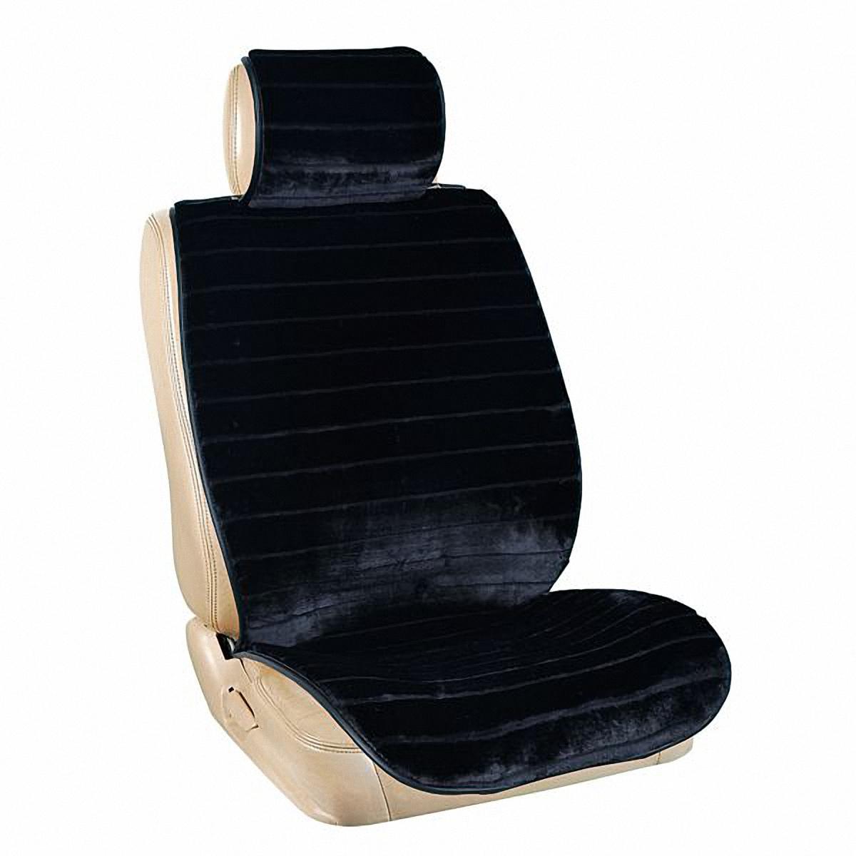 Накидки автомобильные Skyway, цвет: черный. S03001069 защитная накидка смешарики под детское кресло цвет серый 118 х 48 см