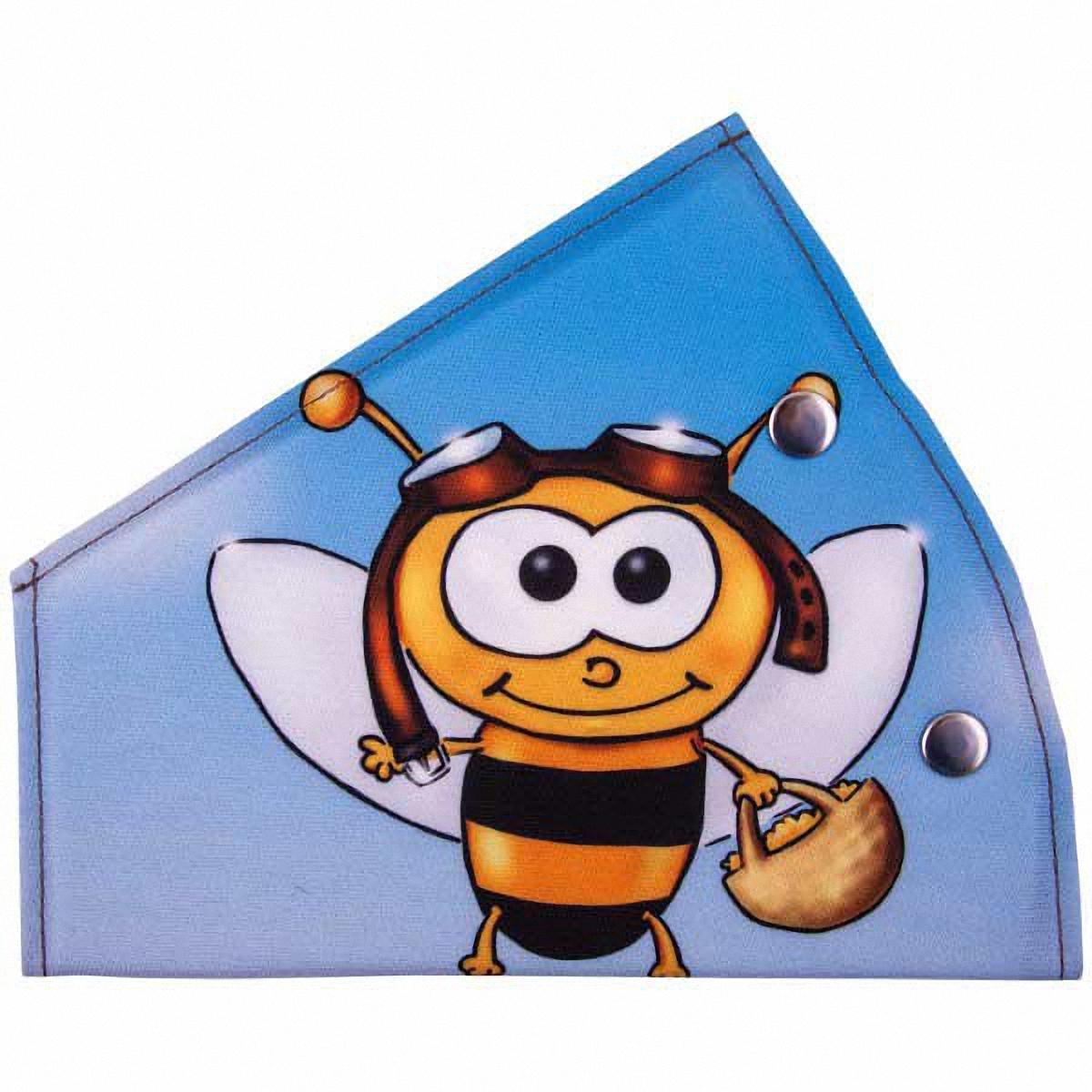 Адаптер ремня безопасности Skyway ПчелаS04007015Детский адаптер ремня безопасности, выполненный из полиэстера, удерживает ремень безопасности в положении, удобном для человека небольшого роста. Удерживающее устройство можно установить на любой трёхточечный ремень безопасности. При перевозке ребёнка до 12 лет адаптер ремня безопасности разрешено устанавливать только на ремни заднего сиденья.Тип крепления: кнопки.