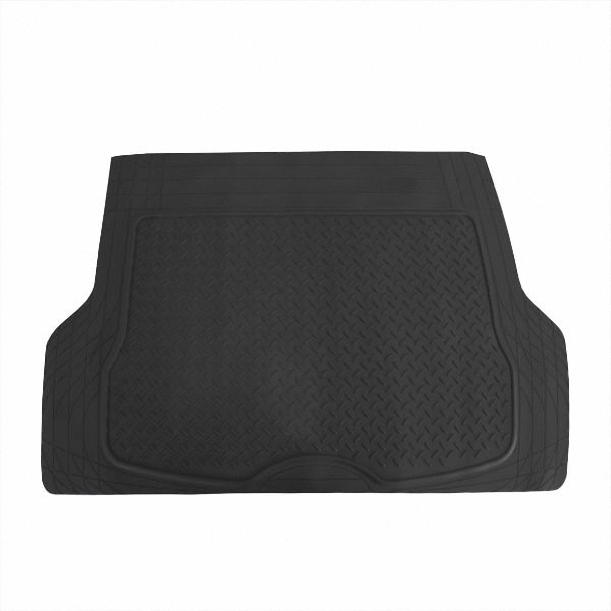 Коврик в салон автомобиля Skyway, в багажник, цвет: черный, 80 х 126,5 смS04701004Коврик сохраняет эластичность даже при экстремально низких и высоких температурах (от -50°С до +50°С). Обладает повышенной устойчивостью к износу и агрессивным средам, таким как антигололёдные реагенты, масло и топливо. Усовершенствованная конструкция изделия обеспечивает плотное прилегание и надёжную фиксацию коврика на полу автомобиля.Размер: 80 х 126,5 см.