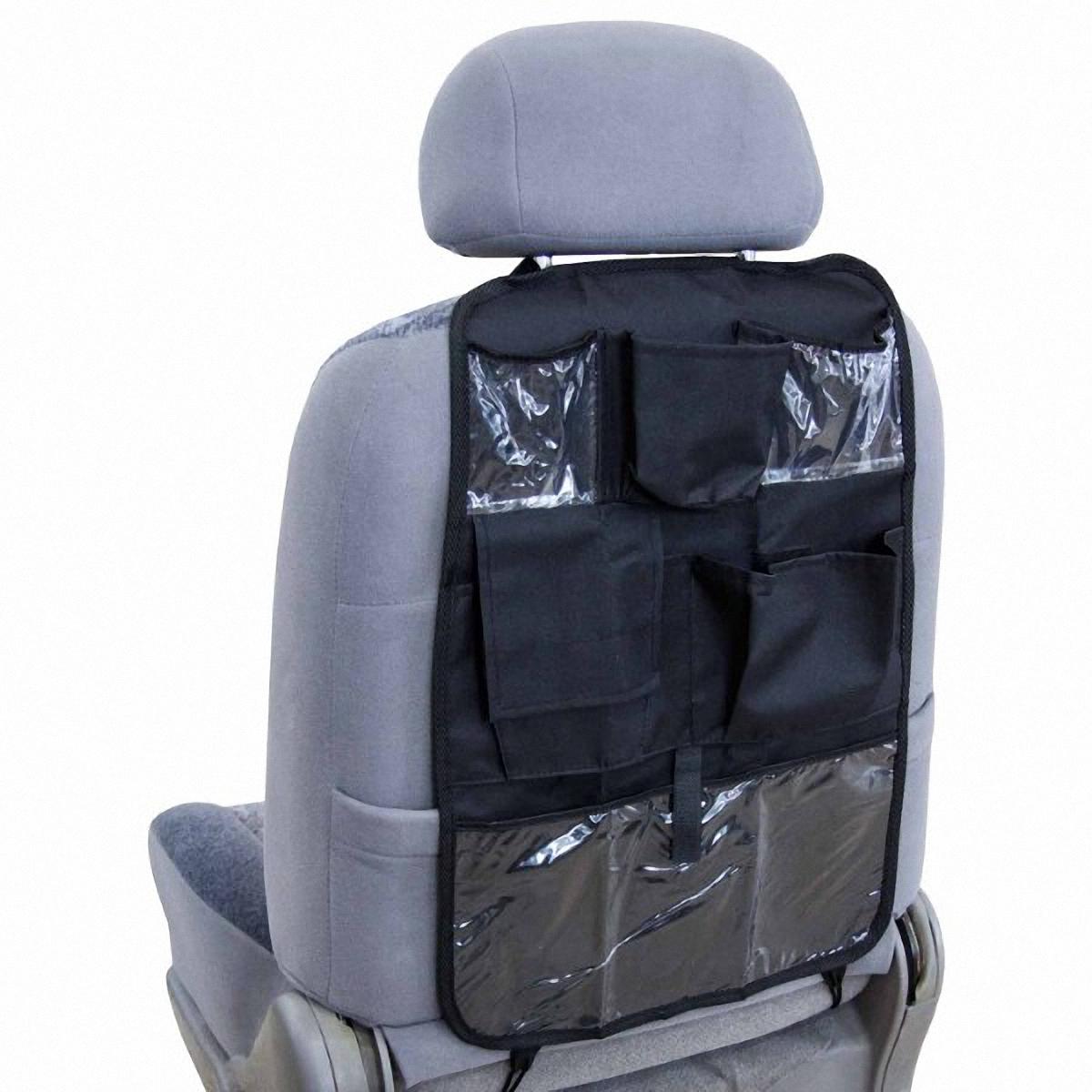 Накидка-органайзер защитная Skyway, на спинку сидения, 37 х 55 см. S06101002 органайзер skyway 90x90cm s06002001 сетка багажная