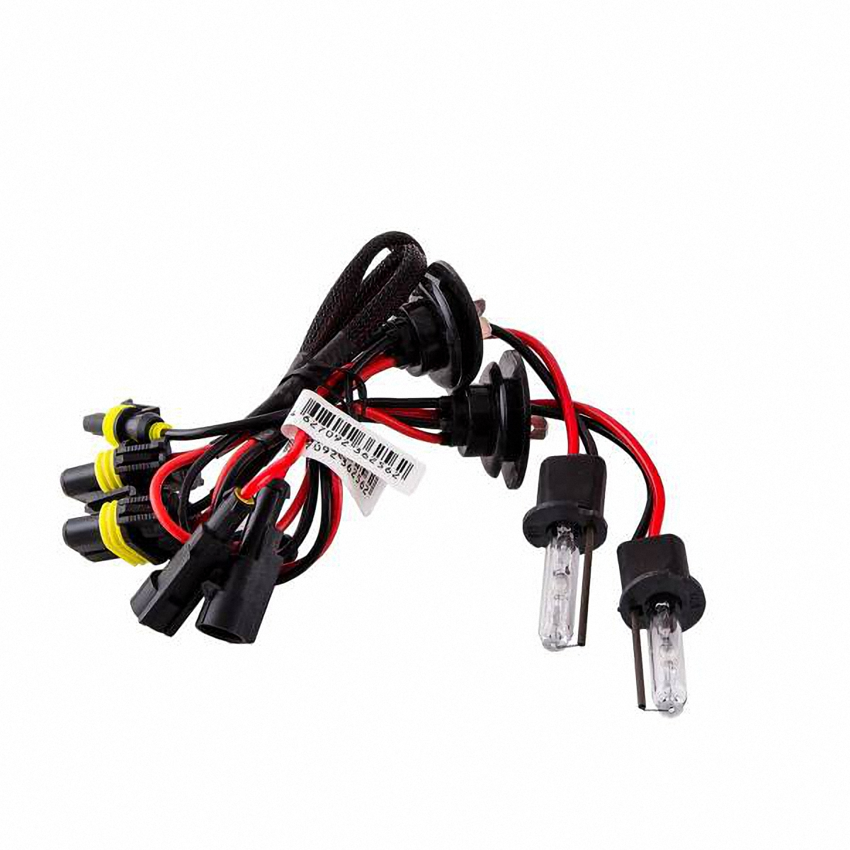 Лампа автомобильная Skyway, ксенон, цоколь H3, 35 Вт, 12 В, 2 штSH3 5000KЛампы автомобильные Skyway - комплект ксеноновых ламп без блока розжига. Автолампы с цоколем Н3 предназначены для противотуманных фар. Их размеры достаточно малы, и от них отходят 2 проводка (+ и -).Автолампа ксенонSKYWAY устойчива к тряскам, имеет продолжительный срок эксплуатации. За счет лучшего освещениядорожной разметки и дорожных знаков, вы будете чувствовать себя уверенно в плохих погодных условиях и в темное время суток. А мягкий белый свет лампы не ослепляет водителей встречного потока автомобилей. Особенности: Колба изготовлена из кварцевого стекла Водонепроницаемый корпус Короткое время розжига Срок службы более 3000 часов Излучают на 300 % больше света, чем галогеновые лампы Увеличенная яркость свеченияХарактеристики: Цветовая температура: 5000 К Яркость: 3200 Лм Тип цоколя: Н3 Диапазон входного напряжения: 9-32 В Потребляемая мощность: 35 Вт Комплектация: Лампа газоразрядная ксеноновая - 2 шт. Гарантийный талон - 1 шт.