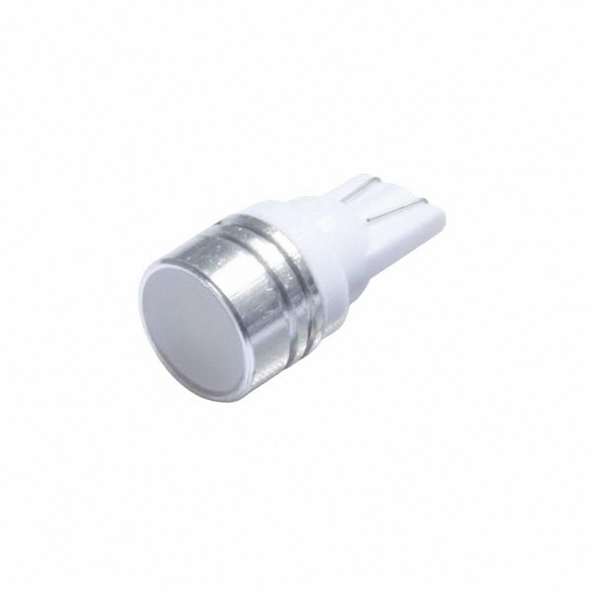 Автолампа диод Skyway T10 (W5W). ST10-HP-0.3W 12V WST10-HP-0.3W 12V WАвтолампа диод Skyway T10 (W5W) - один из наиболее долговечных источников света.Такая автолампа прослужит намного дольше обычных ламп, она не боится перепадов температур, устойчива к вибрациям и ударам.Автолампа T10 имеет компактный размер, низкое потребление энергии, тем самым значительно снижает нагрузку на аккумулятор и генератор автомобиля.