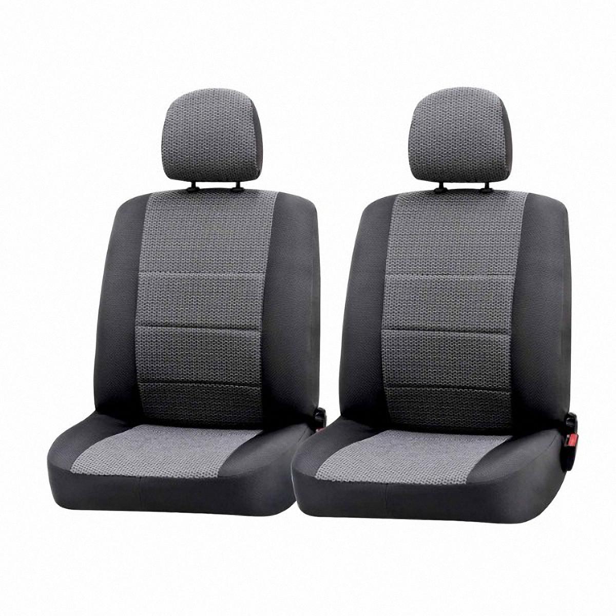 Чехлы автомобильные Skyway, для Volkswagen Polo 2010-, седанVw1-2Автомобильные чехлы Skyway изготовлены из качественного жаккарда. Чехлы идеально повторяют штатную форму сидений и выглядят как оригинальная обивка сидений. Разработаны индивидуально для каждой модели автомобиля. Авточехлы Skyway просты в уходе - загрязнения легко удаляются влажной тканью. Чехлы имеют раздельную схему надевания. В комплекте 13 предметов.