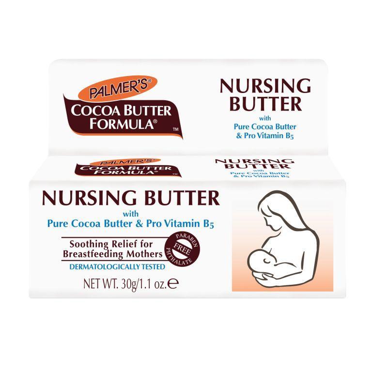 Palmers Крем для сосков с маслом какао 30 г4037Питательный крем, комфортный для нанесения на нежную и чувствительную область кожи женской груди. Сочетание чистого масло какао, пантенола (про-витамин В5) и смягчающих компонентов для восстановления трещин, снятия болевых ощущений, связанных с грудным вскармливанием.Возможно использование в период беременности для подготовки к кормлению грудью.