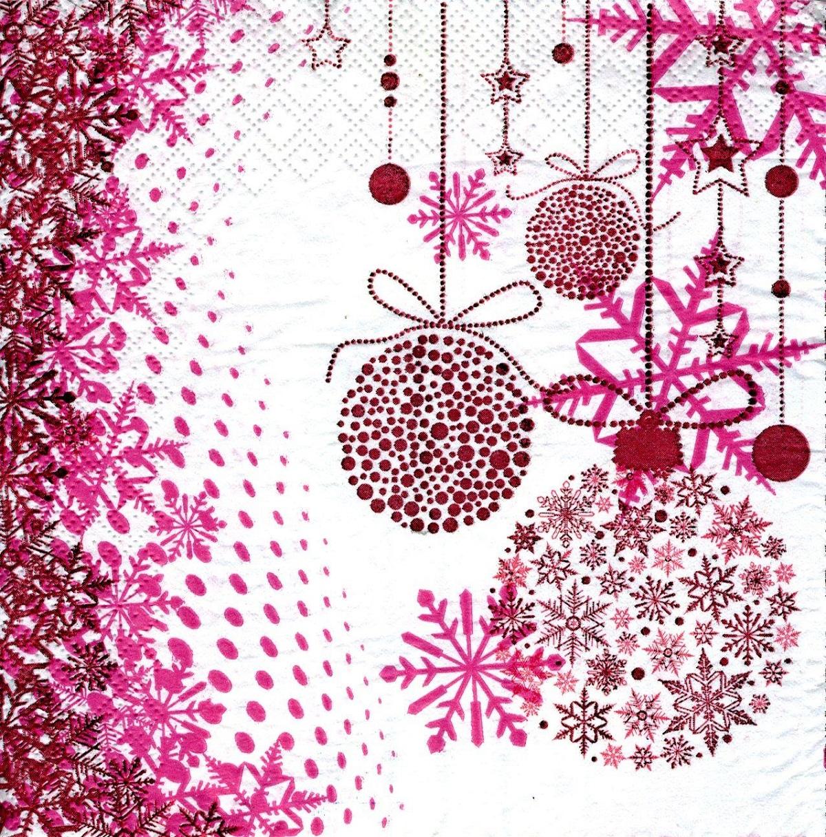 Салфетки бумажные Gratias Новогодние шары, трехслойные, 33 х 33 см, 20 шт90564Трехслойные бумажные салфетки Gratias Новогодние шары, выполненные из натуральной целлюлозы, станут отличным дополнением любого праздничного стола. Они отличаются необычной мягкостью и прочностью. Размер листа: 33 х 33 см. Количество слоев: 3.