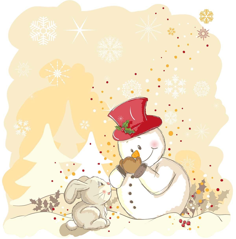 Салфетки бумажные Gratias Снеговик с зайчонком, трехслойные, 33 х 33 см, 20 шт92209Трехслойные бумажные салфетки Gratias Снеговик с зайчонком, выполненные из натуральной целлюлозы, станут отличным дополнением любого праздничного стола. Они отличаются необычной мягкостью и прочностью. Размер листа: 33 х 33 см. Количество слоев: 3.