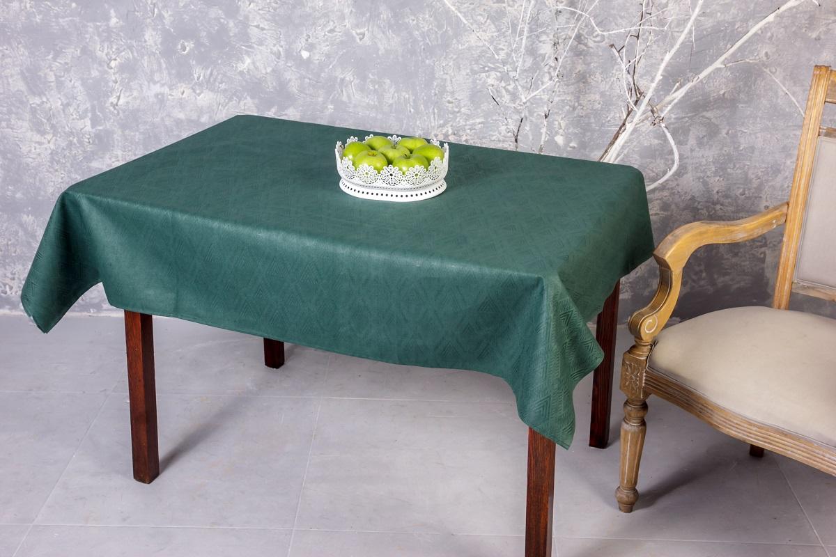 """Скатерть """"Гаврилов-Ямский Лен"""", выполненная из льна  и хлопка, декорирована жаккардовым рисунком.  Данное изделие является незаменимым аксессуаром  для сервировки стола.   Лен - поистине уникальный, экологически чистый  материал. Изделия из льна обладают уникальными  потребительскими свойствами. Хлопок представляет собой натуральное волокно,  которое получают из созревших плодов такого  растения как хлопчатник. Качество хлопка зависит от  длины волокна - чем длиннее волокно, тем ткань лучше  и качественней. Такая скатерть очень практична и неприхотлива в уходе.  Она создаст тепло и уют в вашем доме."""