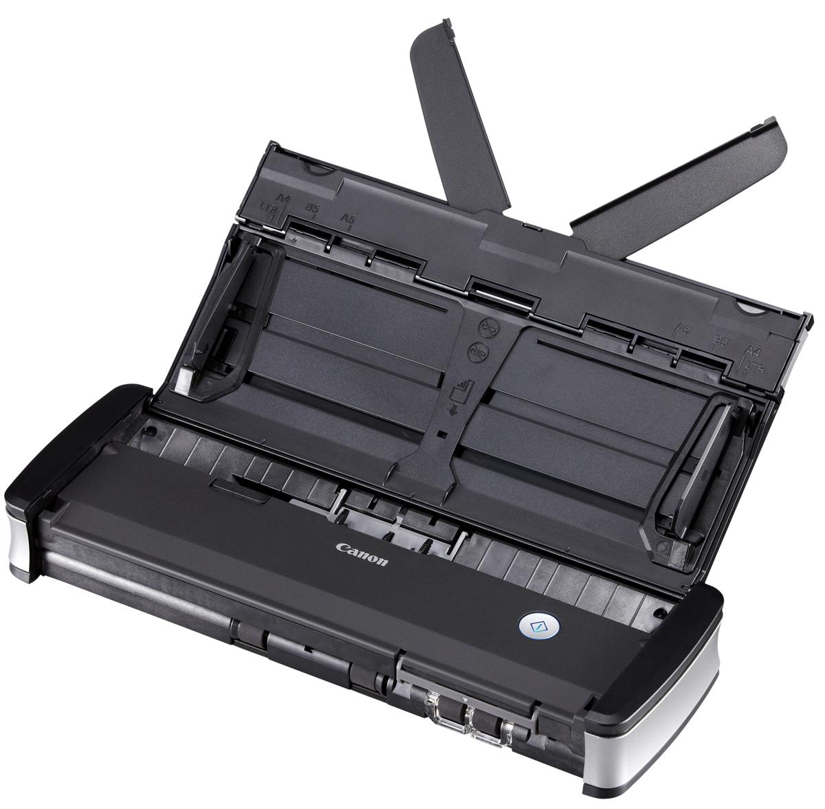 Canon P-215II (9705B003) сканер9705B003В офисе, дома или в движении — стильный сканер Canon P-215IIпредлагает удобство подхода plug-and-scan(включил и сканируй). Это самый быстрый из портативных сканеров со скоростью двустороннегосканирования до 30 изображений в минутуСканер Canon P-215II — самое производительное устройство в своем классе. Благодаря скоростидвустороннего сканирования до 30 изображений в минуту (с питанием от USB-кабеля) и устройствуавтоматической подачи документов на 20 листов пользователи могут быстро сканировать документы в офисе,дома или во время поездки. Сканер P-215II отличается мощной и надежной конструкцией, которая позволяетобрабатывать до 500 документов в день.Благодаря продуманной компактной конструкции сверхлегкий сканер P-215II идеально подходит дляиспользования как в поездках, так и в офисе. Он занимает небольшую площадь и без проблем умещается вдорожных футлярах и на очень ограниченной поверхности рабочих столов. Настоящий plug-and-scan (включил исканируй) возможен при простом подключении сканера к любому ПК или Mac. Уникальное встроенное ПОCanon CaptureOnTouch Lite всегда готово к работе — ни драйвер, ни приложения устанавливать не нужно.Потребности сканирования удостоверений личности для обеспечения безопасности растут, поэтому P-215IIтеперь оснащен собственным слотом для сканирования удостоверений. Продуманный механизм обратнойподачи гарантирует быстрое сканирование удостоверений и тисненых карточек.Усовершенствованная технология обеспечивает высокоточное сканирование вплоть до 600 точек на дюйм.Богатый выбор функций обработки изображения, таких как автоматическое определение цвета иавтоматическое распознавание ориентации текста, гарантирует превосходное качество сканирования,которое идеально подходит для создания PDF-файлов с поддержкой поиска в тексте на основе оптическогораспознавания символов.Canon P-215II использует ISIS- и TWAIN-драйверы для обеспечения простой интеграции со всеми стандартнымиприложениями для работы с изображе