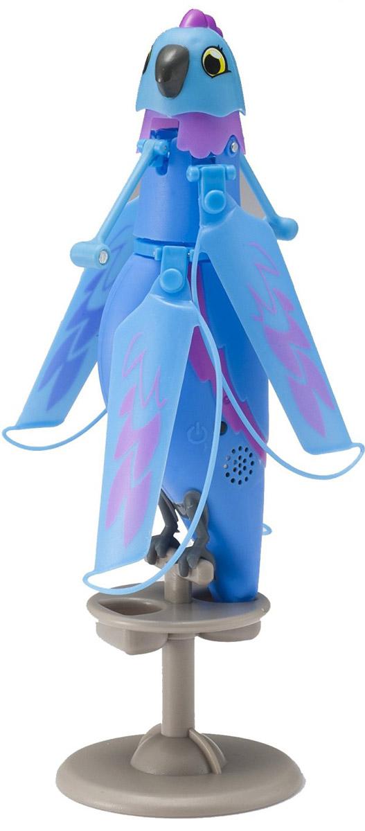 Zipppi Pets Интерактивная игрушка Летающая птичка цвет синий лев и птичка самокат