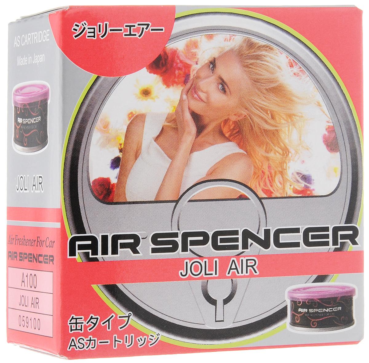 Ароматизатор автомобильный Eikosha Joli AirA-100Ароматизатор Eikosha Joli Air предназначен для размещения в автомобиле. Изделие крепится с помощью двухсторонней клейкой ленты. Ароматизатор обладает мягким и утонченным запахом.
