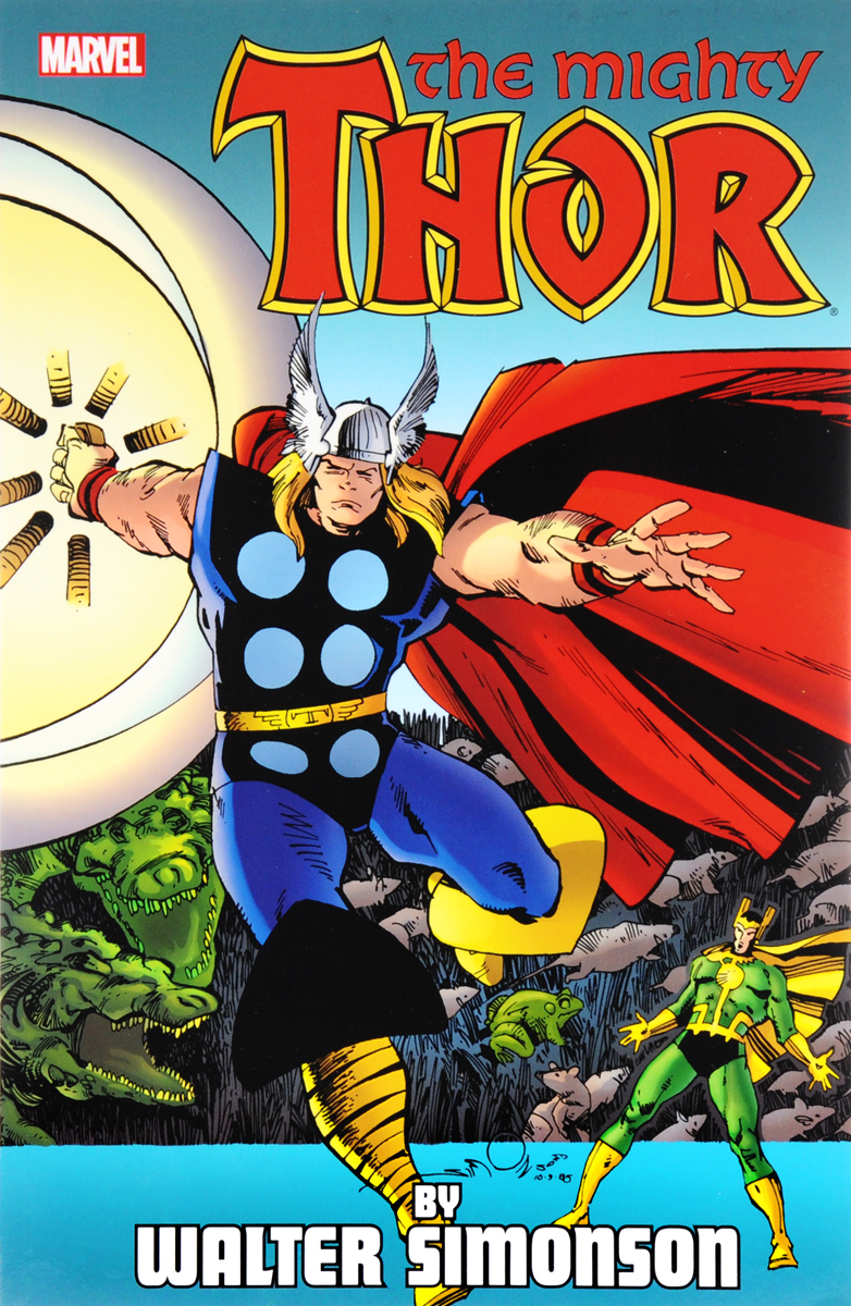 Thor by Walter Simonson Volume 4 thor god of thunder volume 4