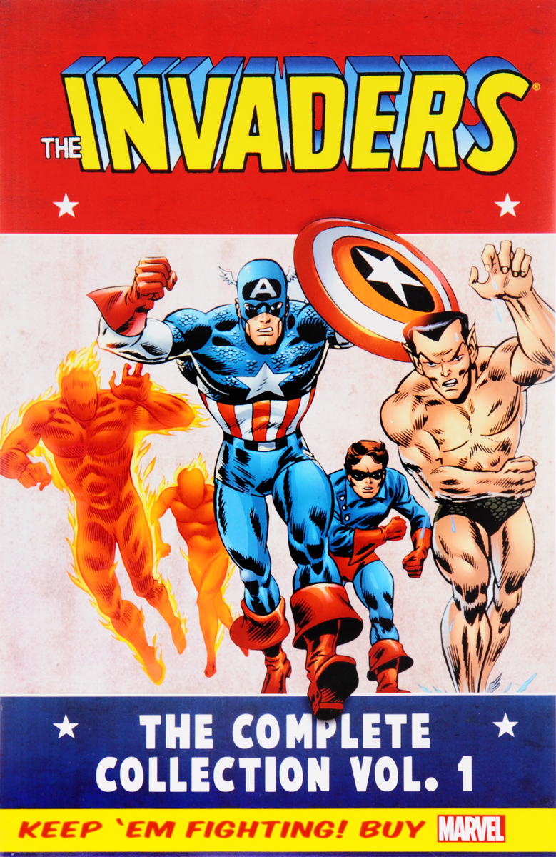 Invaders Classic: The Complete Collection Volume 1 secret warriors the complete collection volume 1