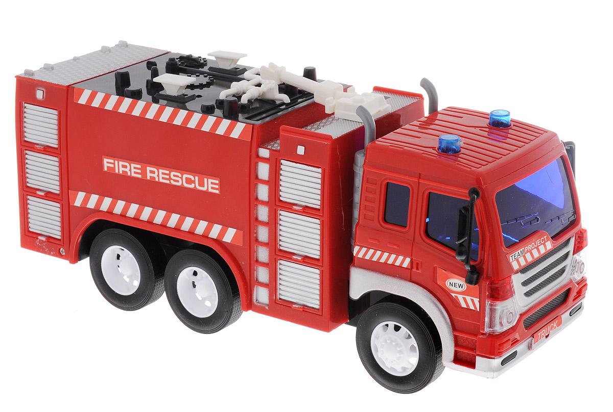 Dave Toy Пожарная машина инерционная