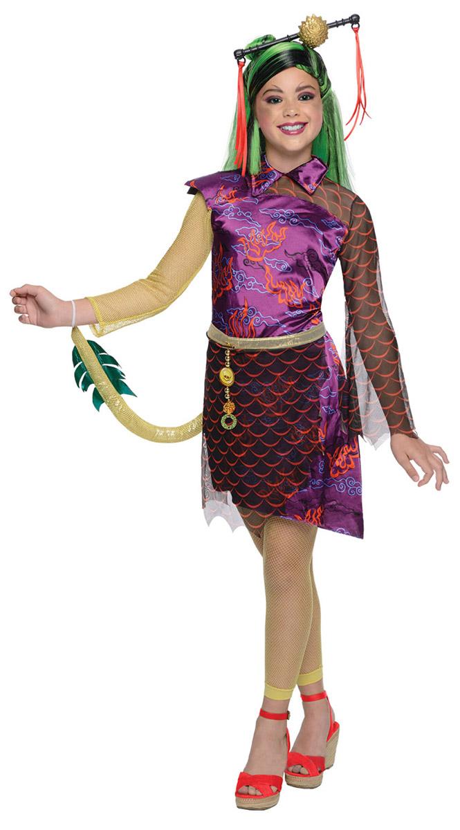 Карнавальный костюм для девочки Rubie's Дженифер Лонг, цвет: фиолетовый, оранжевый, желтый. Н89164. Размер 116, 5-6 лет rubies карнавальный костюм дженифер лонг