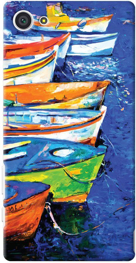 Deppa Art Case чехол для Sony Xperia Z5 Compact, Art Лодки + пленка защитная101372Чехол Deppa Art Case для Sony Xperia Z5 Compact - случай редкого сочетания яркости и чувства меры. Это стильная и элегантная деталь вашего образа, которая всегда обращает на себя внимание среди множества вещей. Благодаря покрытию UV print чехол невероятно приятен на ощупь, поэтому смартфон не хочется выпускать из рук. Ультратонкий чехол (толщиной 1 мм) повторяет контуры самого девайса, при этом готов принимать на себя удары - последствия непрерывного ритма городской жизни.